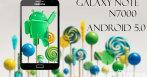 Galaxy Note Android Lollipop CyanogenMod 12
