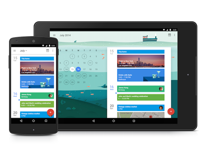 google agenda révolutionne calendrier