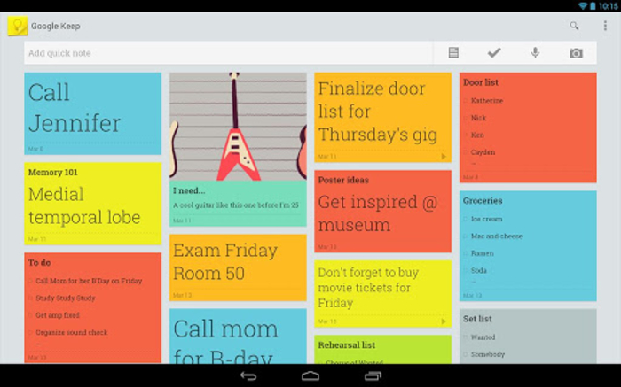 google keep couple android