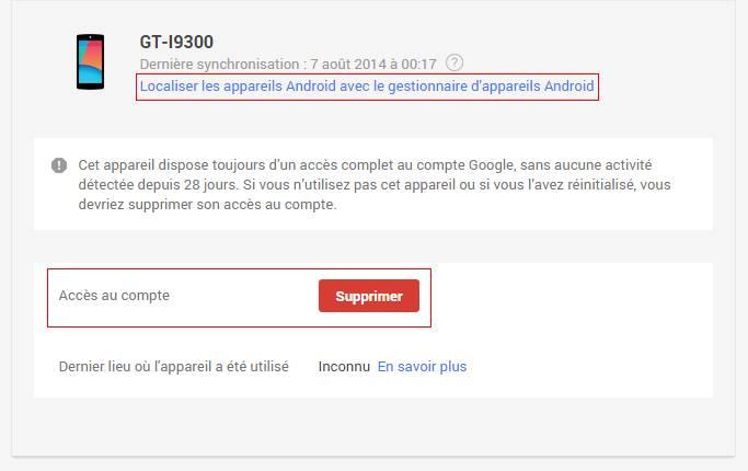 Google Un Outil Pour Voir Tous Les Appareils Relies A Votre Compte