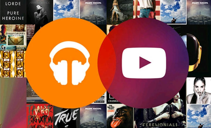 google play music youtube music key