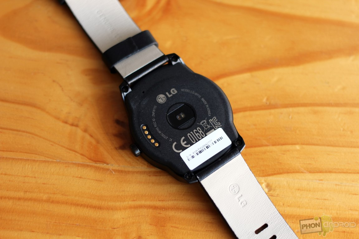 lg g watch r cardiofrequencemetre