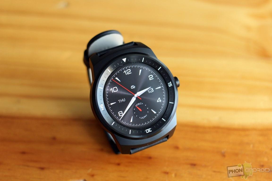 lg g watch r ecran