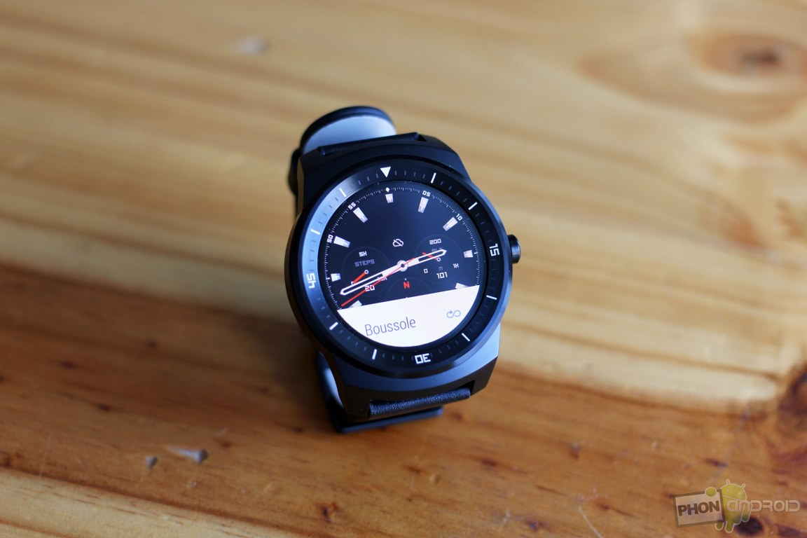 lg g watch r montre connectee