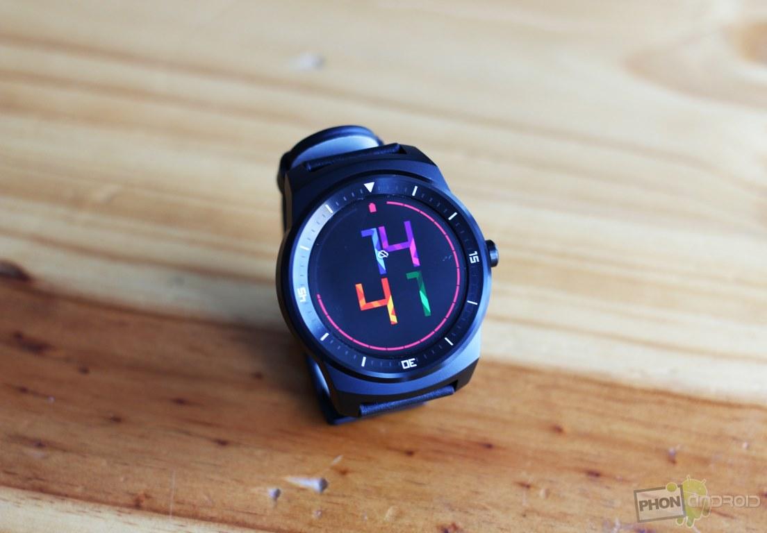 lg g watch r montre