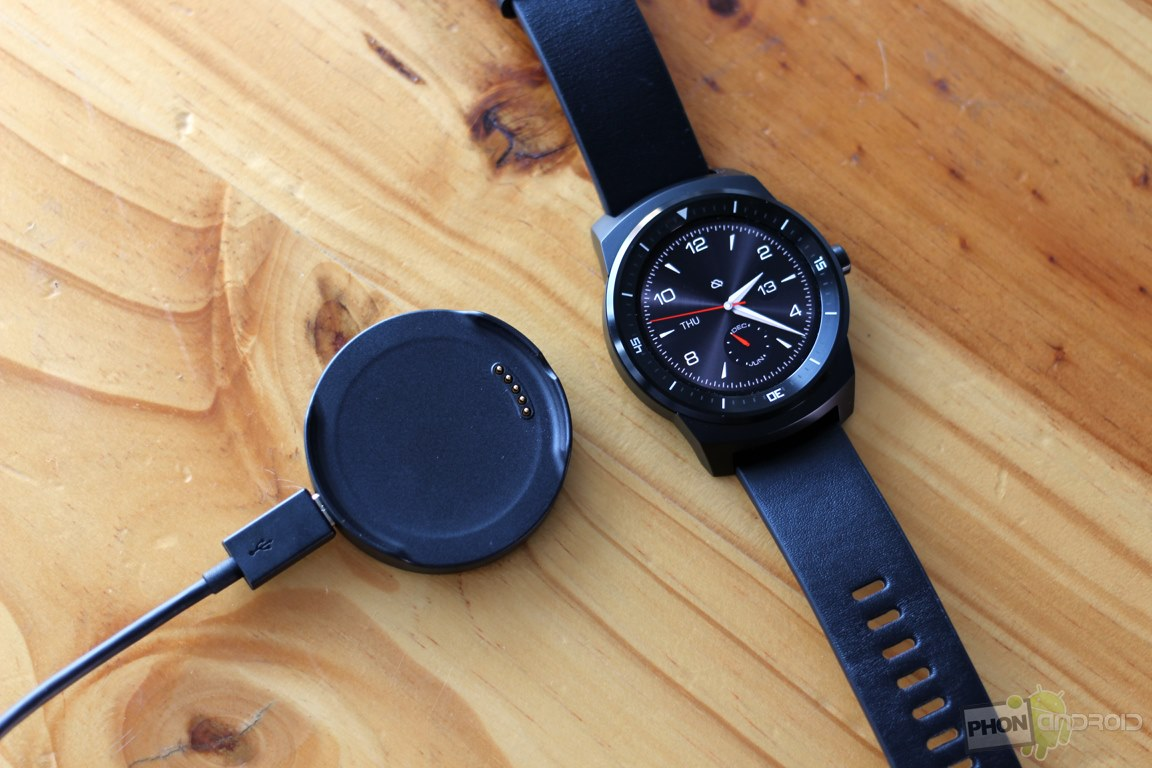 lg g watch r recharge