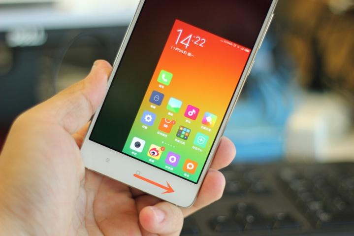 Xiaomi miui 6 one-handed