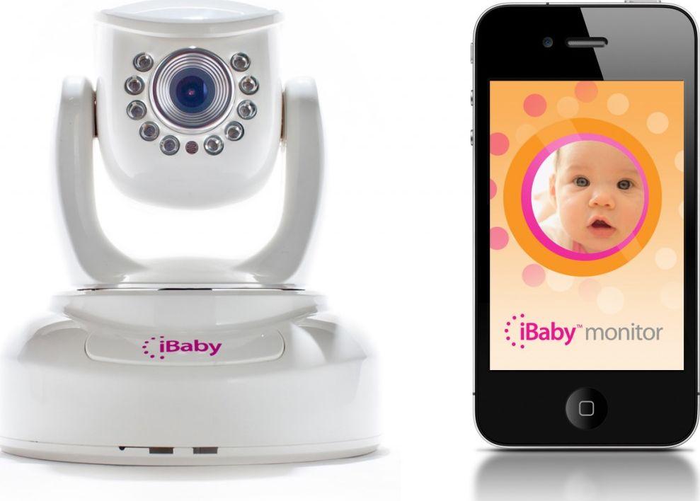 smartphone moniteur bébé