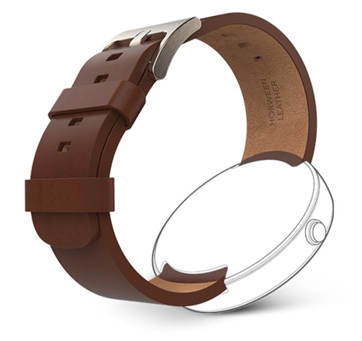 moto 360 bracelet cuir