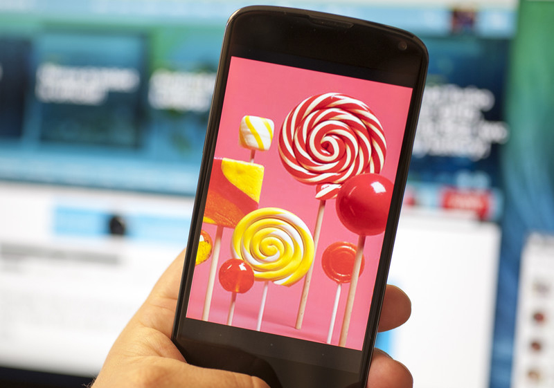 nexus 4 android lollipop mise à jour