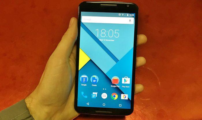 image système Nexus 6
