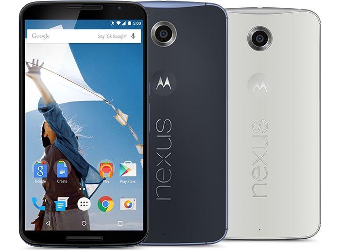 Nexus 6 précommande Play Store