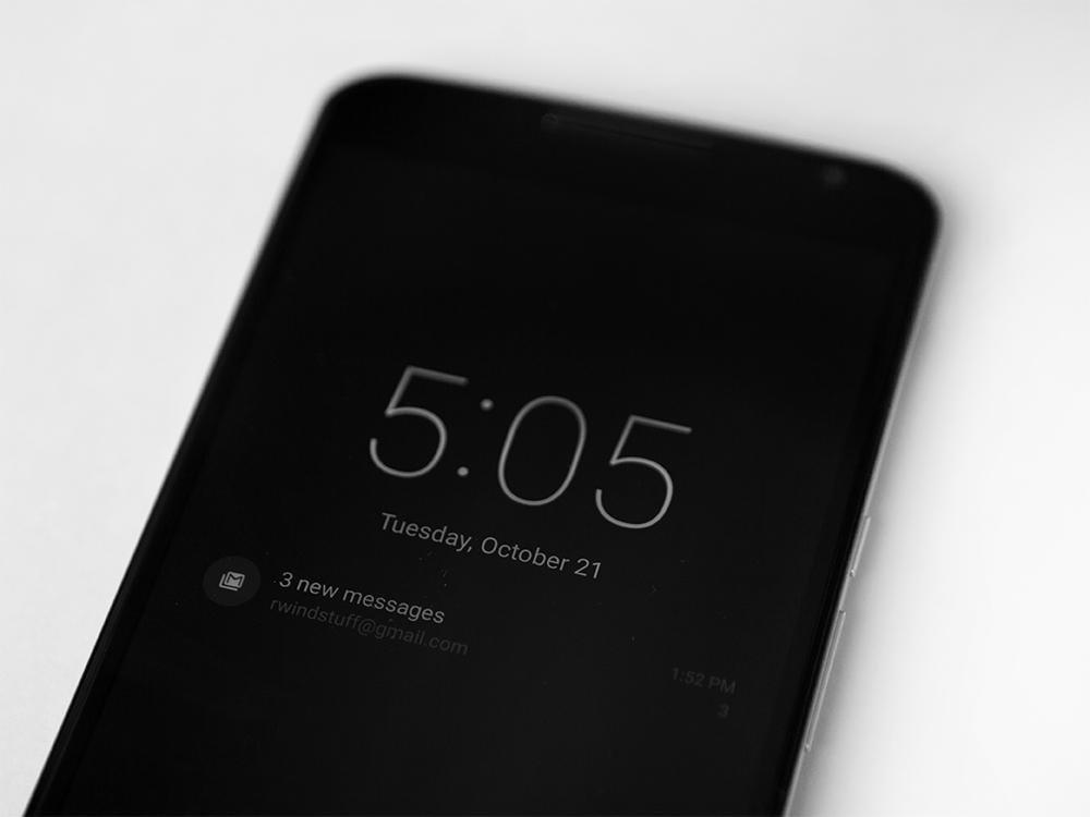nexus 6 fonction tap to wake retirée