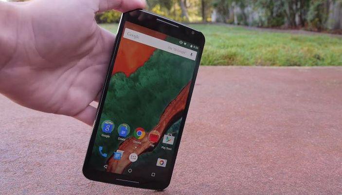 test de chute Nexus 6
