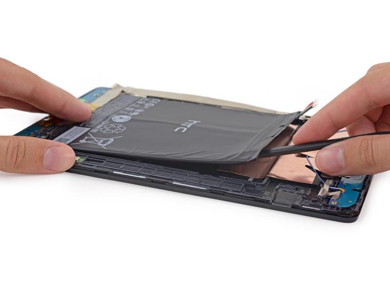 Nexus 9 démontage batterie