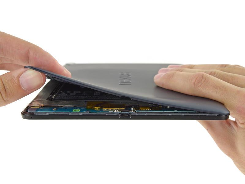 Nexus 9 démontage coque arrière