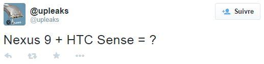 Nexus 9 HTC Sense
