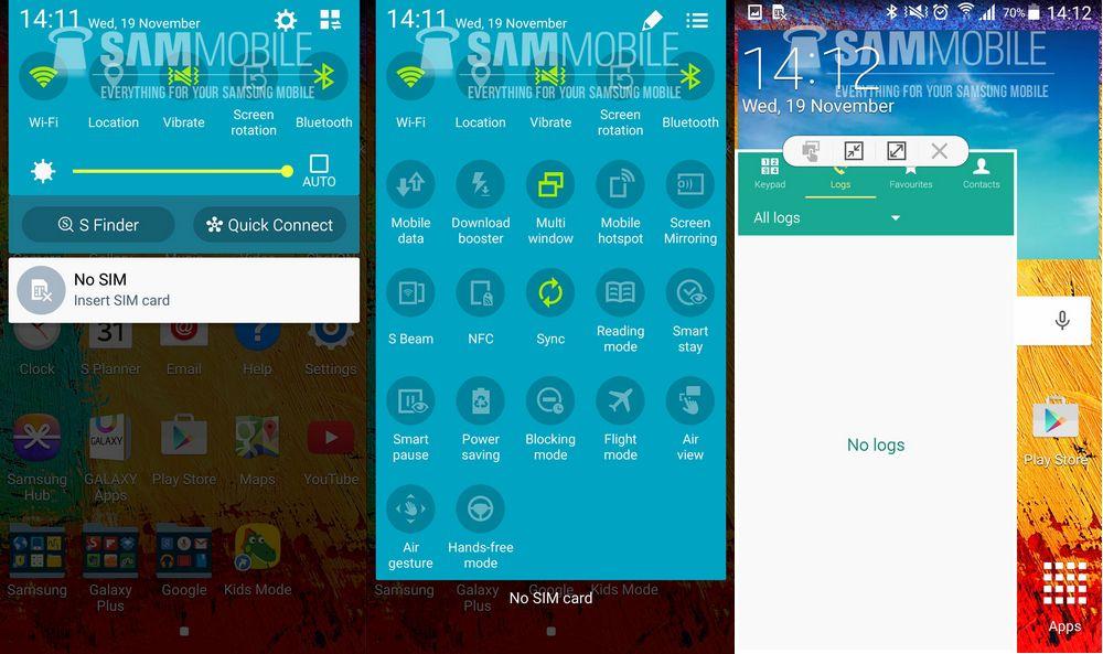 mise à jour Android 5.0 Lollipop Galaxy Note 3