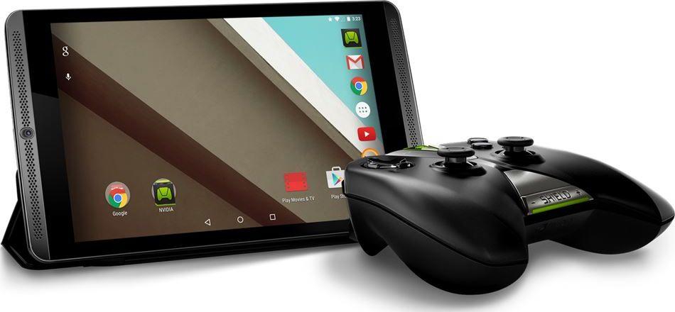mise à jour Android 5.0 Lollipop Nvidia Shield Tablet