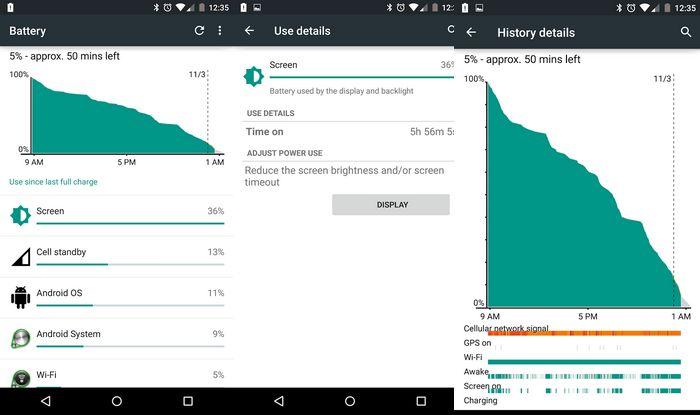 batterie Nexus 6