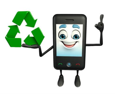 recycler smartphone