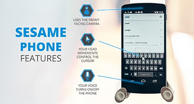sesame smartphone fonctions