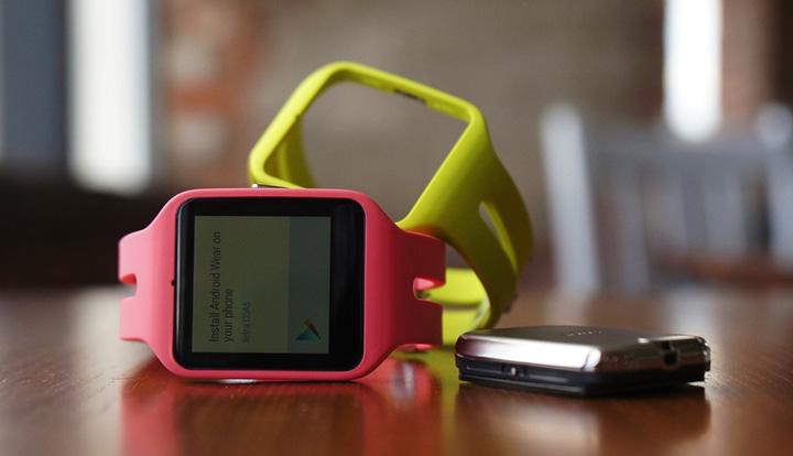 sony smartwatch 3  play store