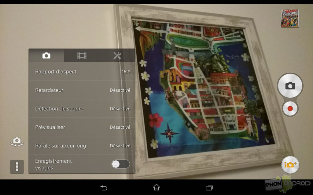 sony xperia z3 tablet compact application photo