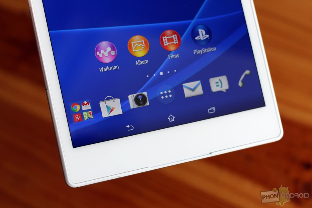 sony xperia z3 tablet compact haut parleurs
