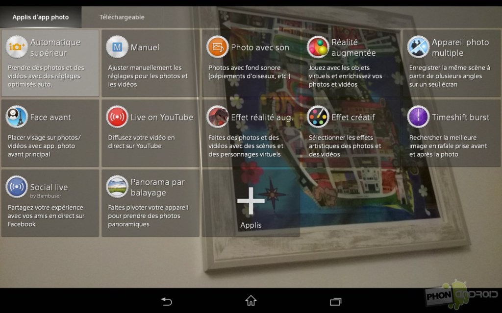 sony xperia z3 tablet compact mode photo