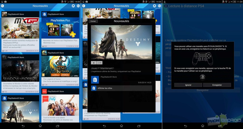 sony xperia z3 tablet compact playstation remote play