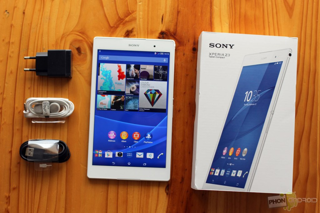 test xperia z3 tablet compact le poids plume. Black Bedroom Furniture Sets. Home Design Ideas