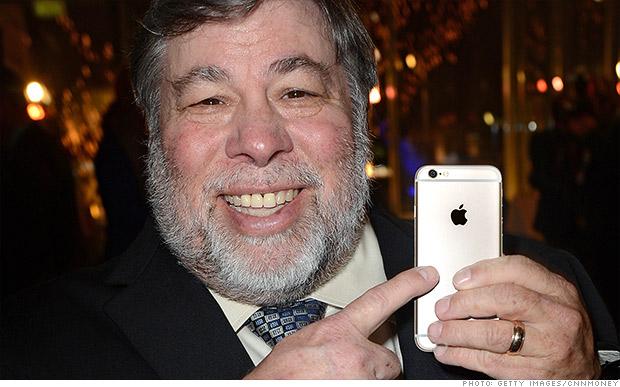 steve wozniak iphone 6 trois ans retard