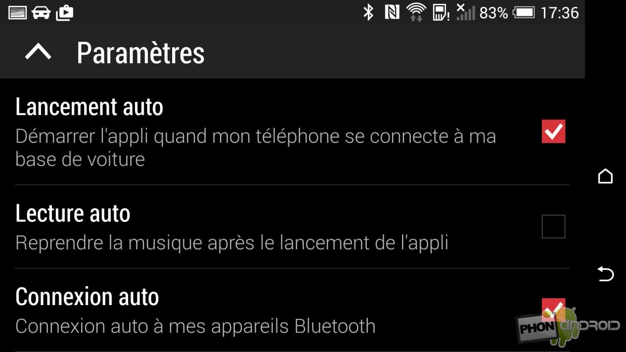 Test HTC Desire Eye mode Auto paramètres