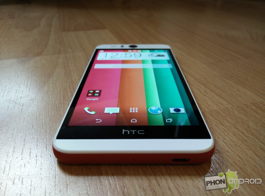 Test HTC Desire Eye avec Android 4.4 KitKat