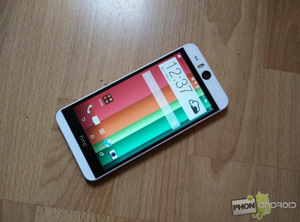 Test HTC Desire Eye écran de 5 pouces