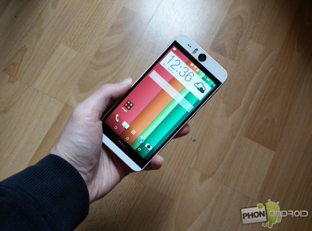 Test HTC Desire Eye prise en main
