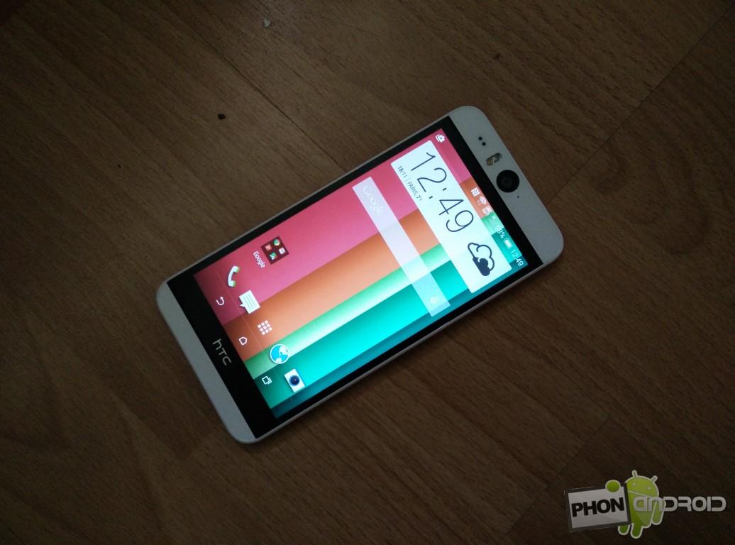 Test HTC Desire Eye avec SoC Snapdragon 801