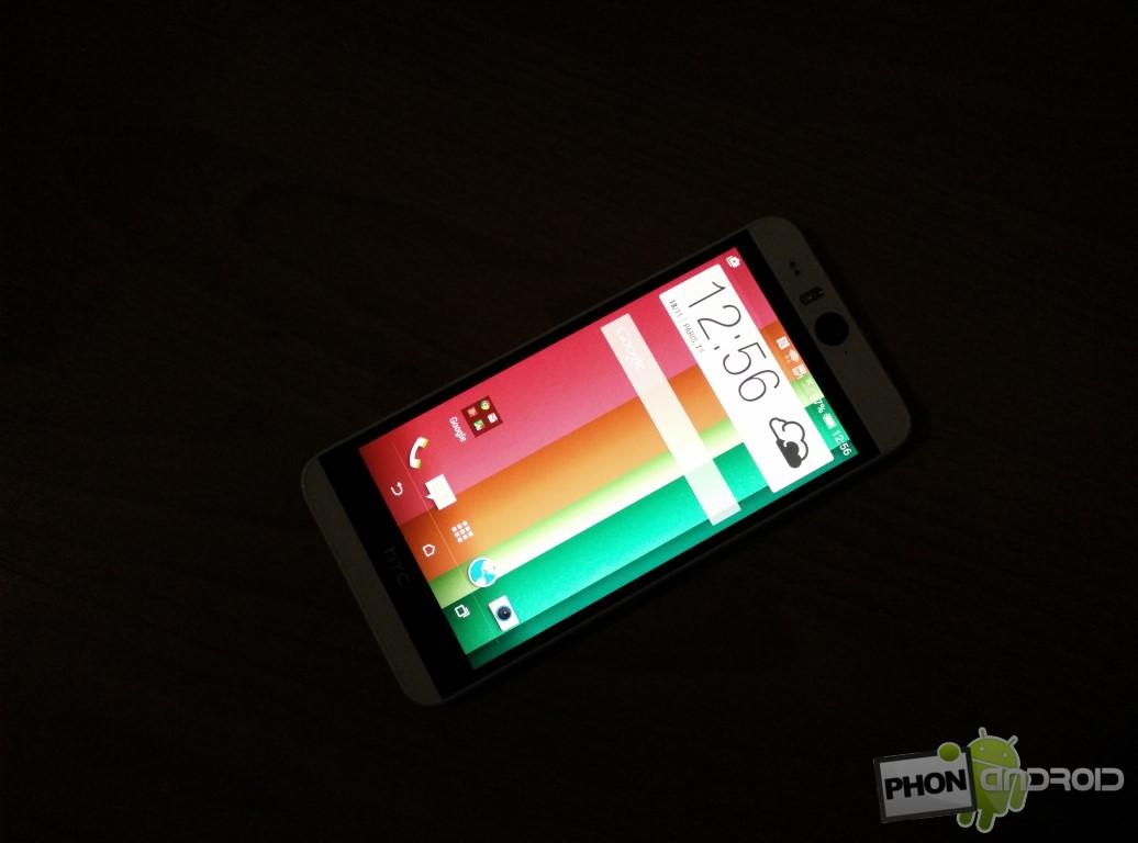 Test HTC Desire Eye utilisation nocturne