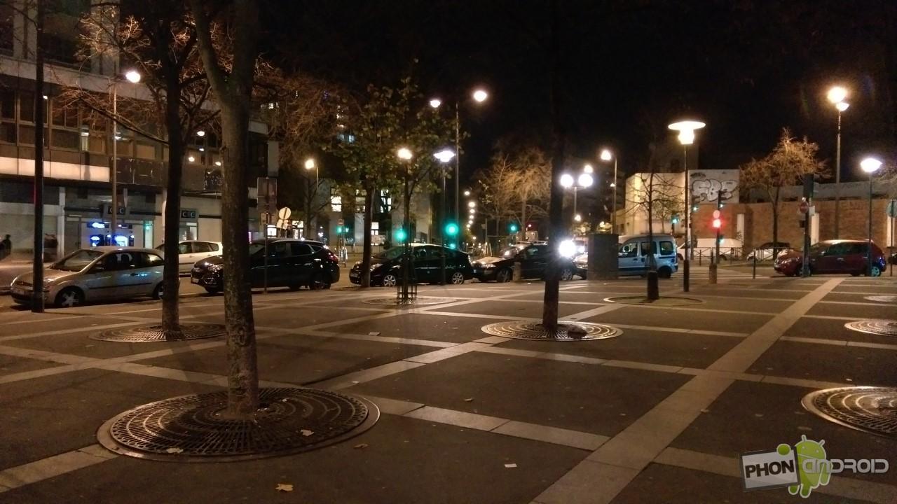 Test HTC Desire Eye photo de nuit sans HDR