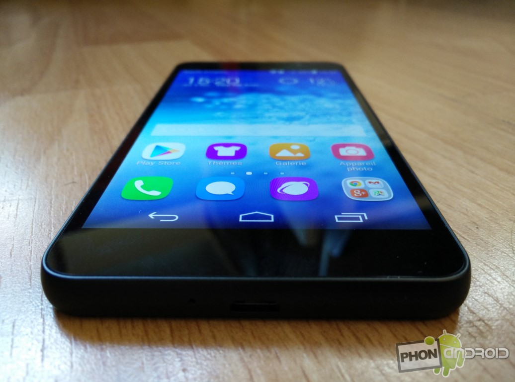 Huawei Honor 6 angles de vision limités