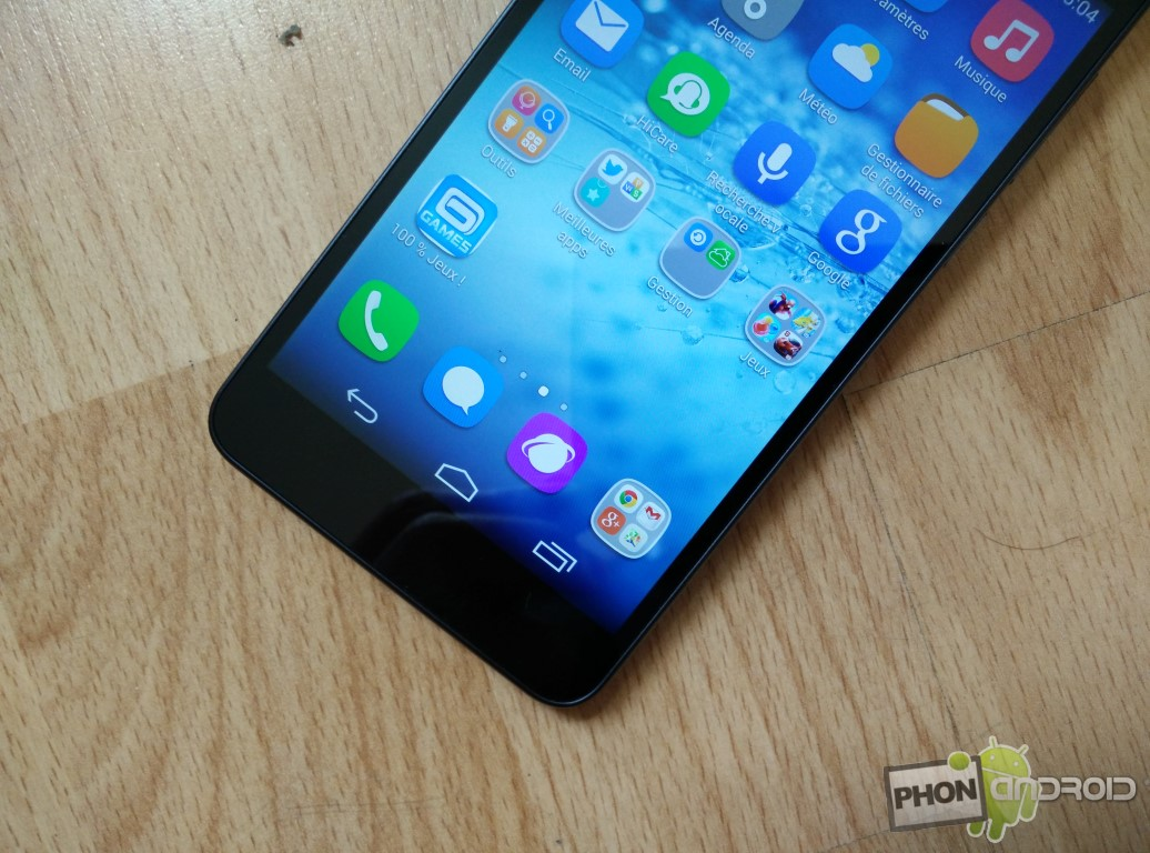 Huawei Honor 6 détail de l'écran