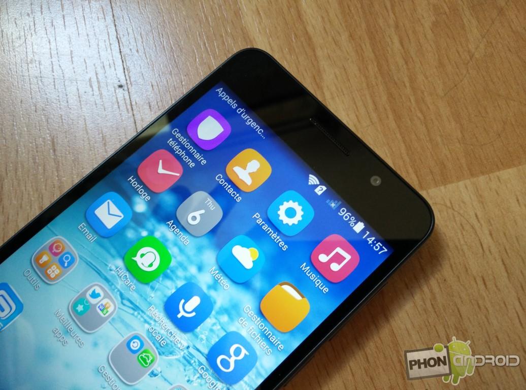 Huawei Honor 6 écran full HD