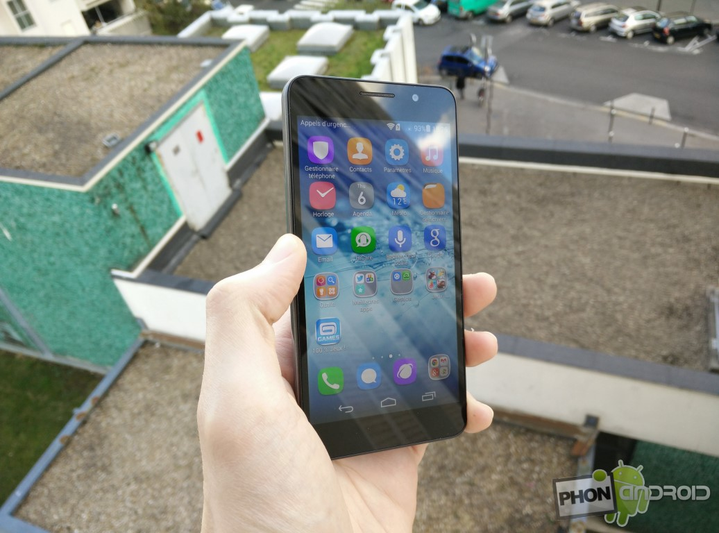 Huawei Honor 6 en extérieur