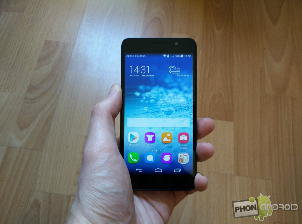 Test Huawei Honor 6