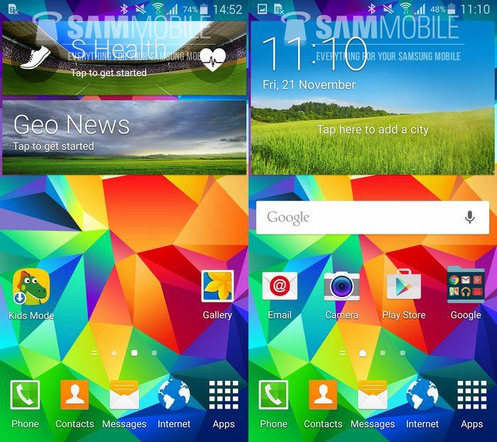 mise à jour Galaxy S5 Android 5.0 Lollipop