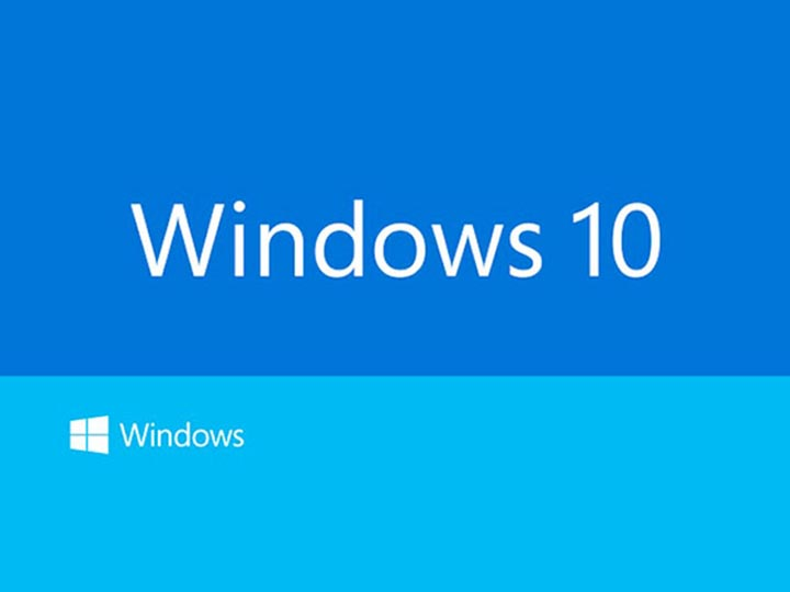 Windows 10 supporte les gestes tactiles