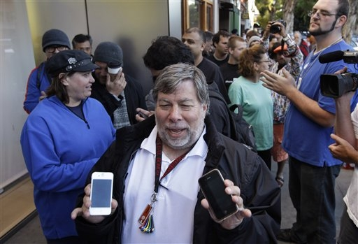 steve wozniak iphone 6