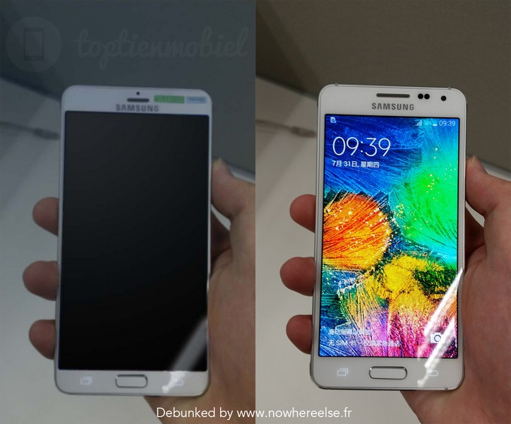 galaxy s6 prototype fake