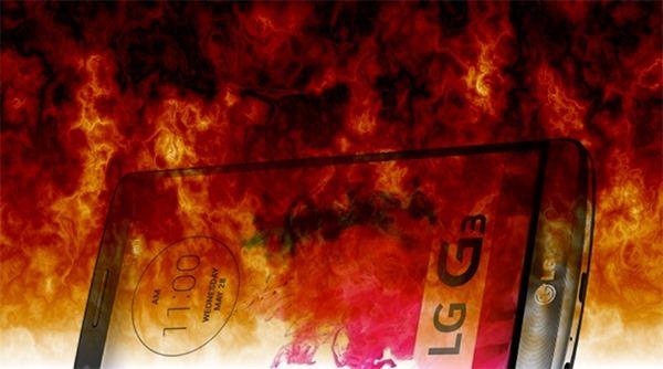 LG G3 feu